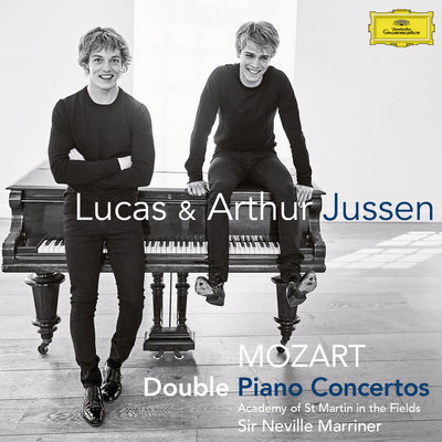 Mozart Double Piano Concertos by Lucas Jussen, Arthur Jussen, Sir Neville Marriner & Academy of St. Martin in the Fields